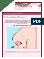 Portaldobudismo Org 2014-04-16 Como Praticar o Pranayama