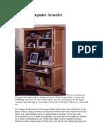 Build a Computer Armoire