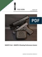 MANTIS TECH -MANTIS X Shooting Performance System