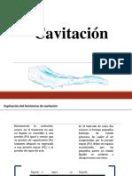 Cavitacion -Mecanica de Fluidos