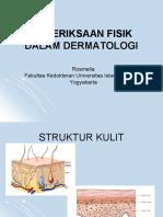 Pemeriksaan Dermatologi - Klasikal Copy