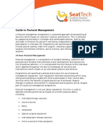 Guide to Postural Management