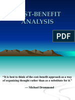 Cost Benefit Analysis All