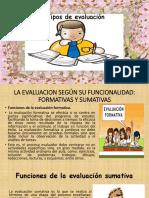 Exposicion de Evaluacion de Los Aprendizajes