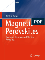 Magnetic Perovskites_ Synthesis, Structure and Physical Properties-Springer India (2016)