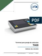 Toledo - Ti420_SP - 3474472 - Manual Do Usuário