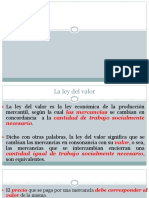 Ley Del Valor