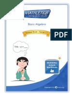 Basic Algebra 1 Test1