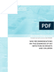 Rekomendasi Diagnosis 2010