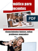 Informática Para Docentes
