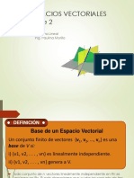 Bases Vectoriales
