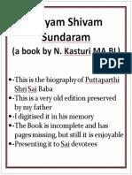 Satyam Shivam Sundaram Volume 1 section  1