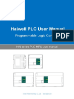 User's Manual of Haiwell H and N Series PLC MPU