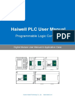 User's Manual of Haiwell PLC Digital Module