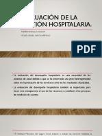 Evaluacion de La Gestion Hospitalaria