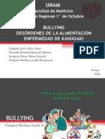 Bullying/ Desórdenes de alimentación/ Enfermedad de Kawasaki