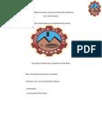 RECURSOS MINEROS DE LA REGIÓN DE AYMARAES