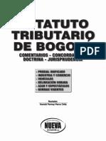 Estatuto Tributario Bogota 2013