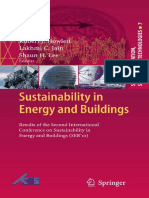 Sustainability in Energy and Buildings Results of