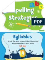 TeachStarter 10 Spelling Strategies Posters 1345
