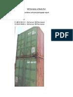 SOC Container at Recife Port