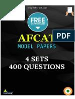 AFCAT Model Question Papers SSBCrack 2