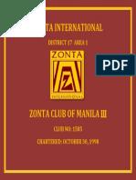 Zonta International Banner