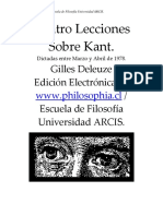 Deleuze, Gilles - Cuatro lecciones sobre Kant.pdf