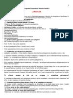 Preguntas Preparatorio Derecho Familia I