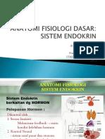 Anatomi Fisiologi Dasar Endokrin
