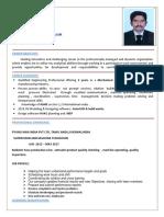 Mechanical Engineer- Cv