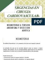 3. Emergencias en Cirugia de Torax y Cardiovascular