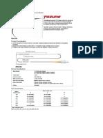 Caracteristicas Tecnicas Tazuna - PTCA Balloon Dilatation Catheter.pdf