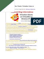 Manual Virtual Box Ubuntu
