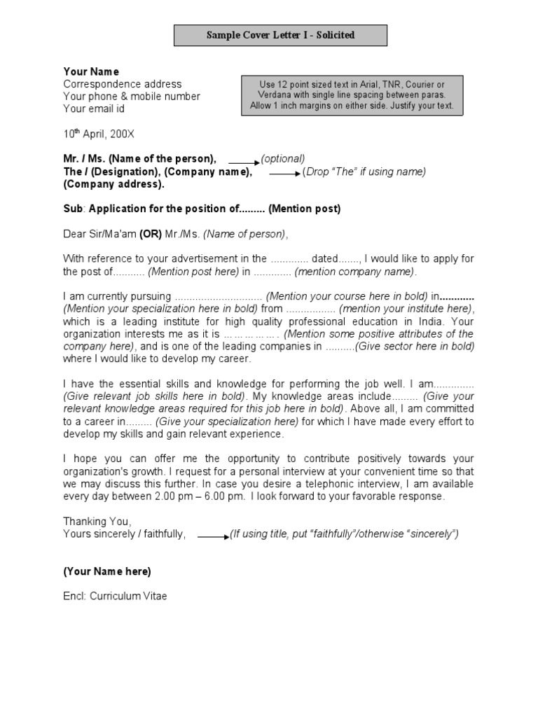 Covering letter format for job application cover letter samples cover letter samples sample job application madrichimfo Gallery