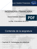 Ingeniería financiera-Capítulo IV