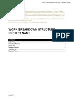 Work Breakdown Structure Template(1)