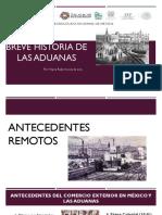 Breve Historia de Las Aduanas