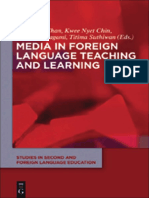 Media in Foreign Language Teaching and Learning, Studies in Second and Foreign Language Education