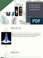 Componentes de Las Bebidas Energizantes