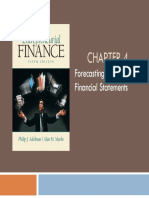 Chapter 4 Forecasting and Pro Forma Financial Statements