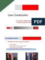 Lean Construction Presentación