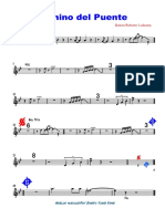 Camino Del Puente2da Trumpet - Partitura Completa
