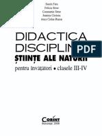 Didactica disciplinei stiinte ale naturii.pdf