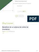 Beneficios de un sistema de control de inventarios.pdf