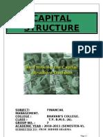 Capital Structure (Fm) 2003