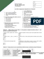 2010 Tehnic Alte Concursuri Subiecte Clasa a XI-A 0