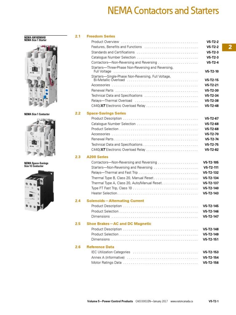 Cutler Hammer Westinghouse A200 Coil Size 00 0 1 2 505C806G02 208//220V size 00-2