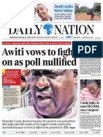 21st February 2018 Daily Nation