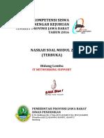 Soal Modul 2 - It Networking - Lks 2016